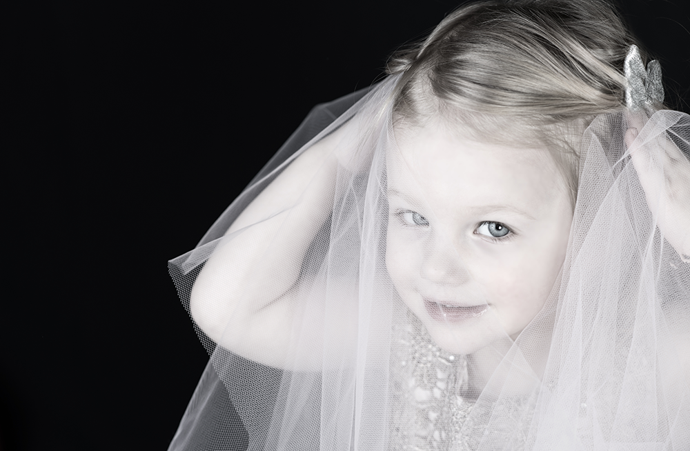 Grace in tulle turns two